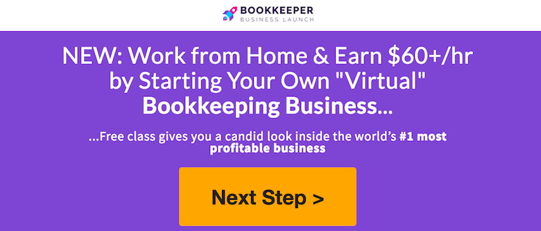 how to make money from home as a bookkeeper without experience