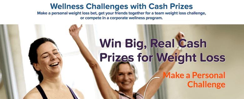 get paid to lose weight with HealthyWage