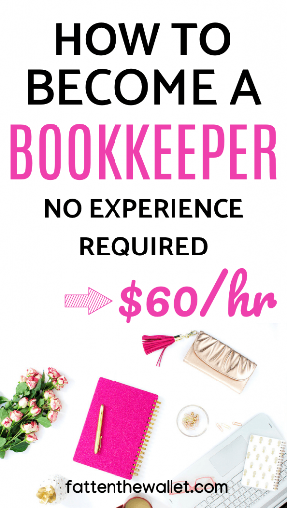 how to work from home as a bookkeeper without experience