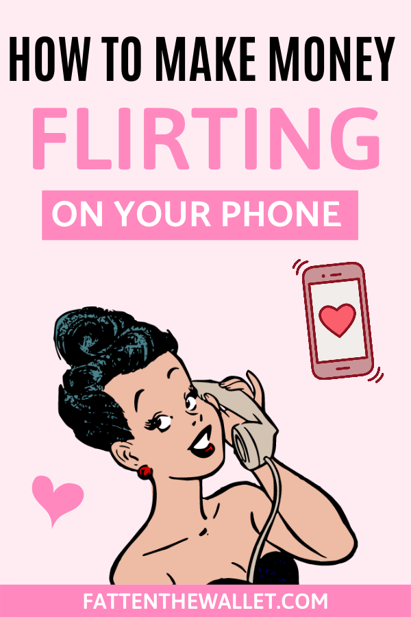 Want to learn how to make money sexting (flirting, chatting, texting) online? Work in the comfort of your own home, set your own hours, be anonymous, and make great money. #sexting #chatting #flirting #makemoneysexting #sidehustle #makemoneyonline #fattenthewallet