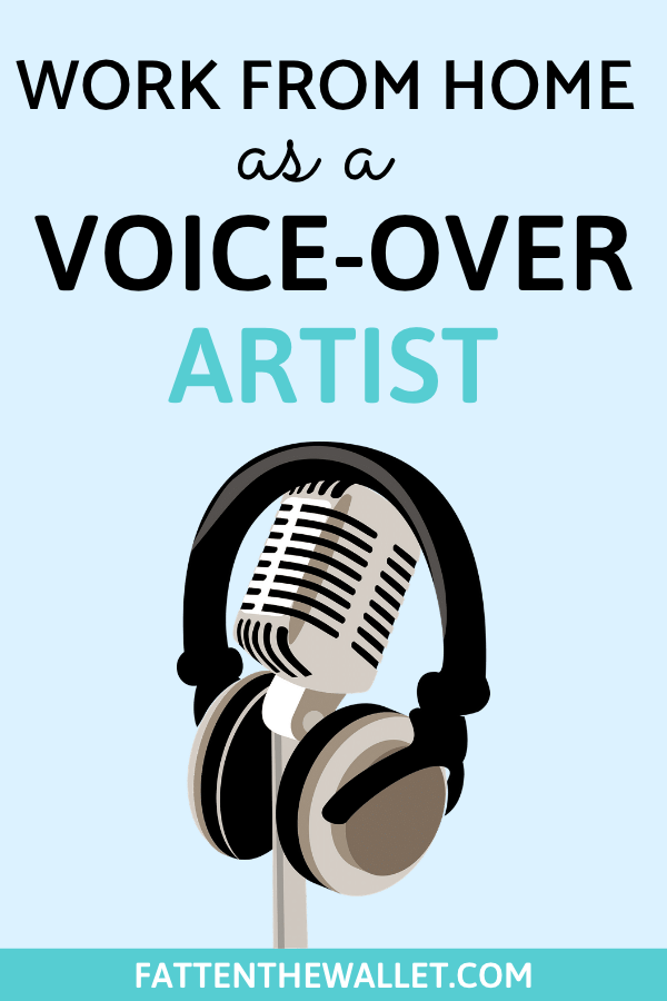 make money from home as a voice-over artist
