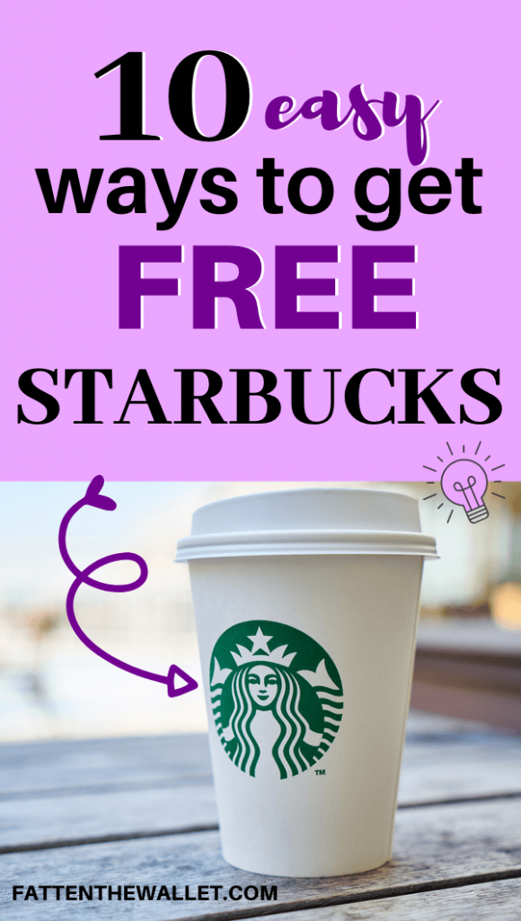 Starbucks free drink
