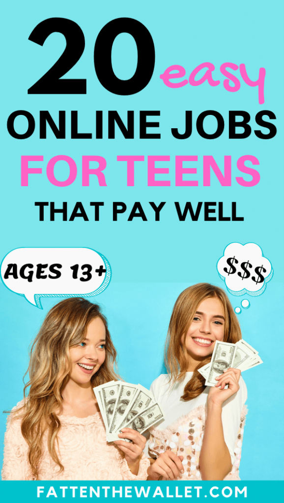 make money online for teens