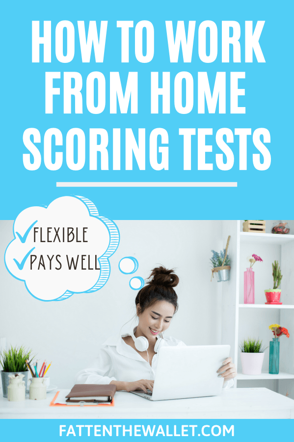 work from home test scorer