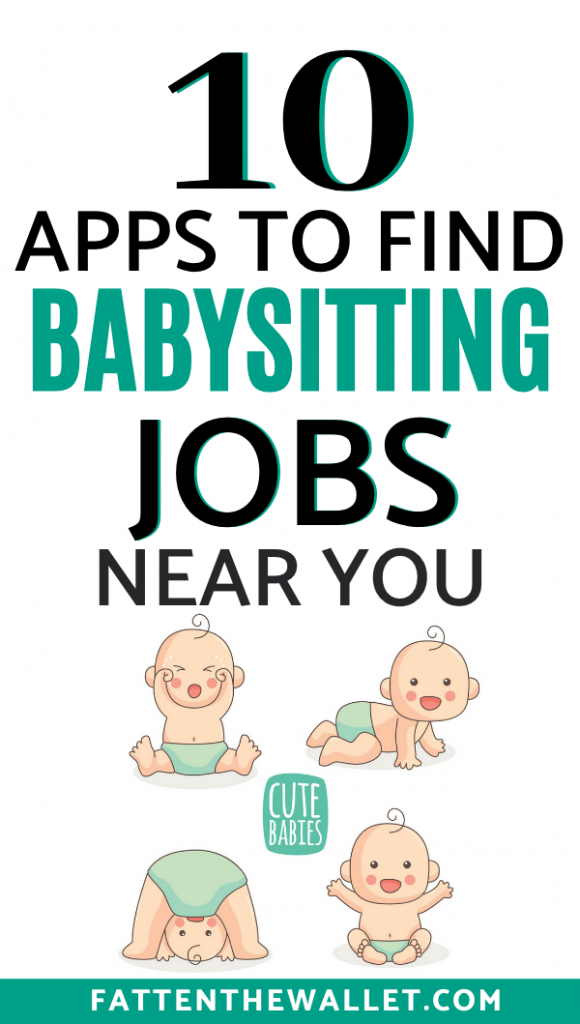 10 Babysitter Apps To Start Your Babysitting Career Fatten The Wallet